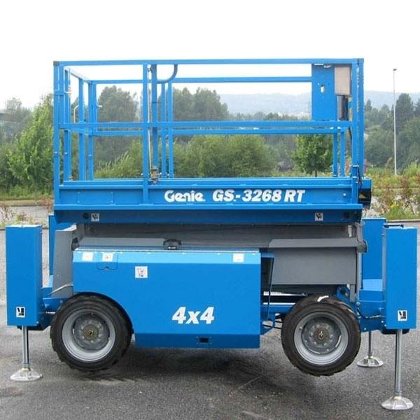 Дизельный подъёмник Genie GS -3268 RT в аренду