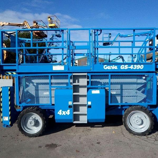 Аренда дизельного подъёмника Genie GS 4390 RT