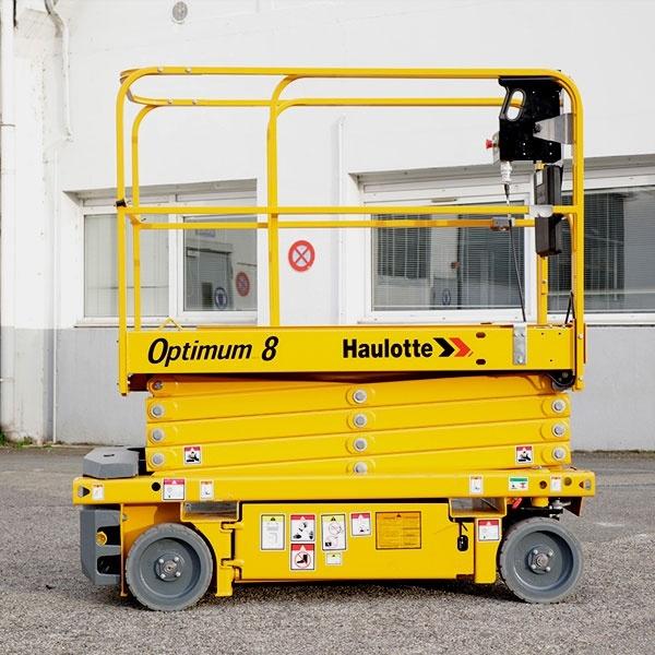 Электрический подъемник Haulotte Optimum 8 в аренду
