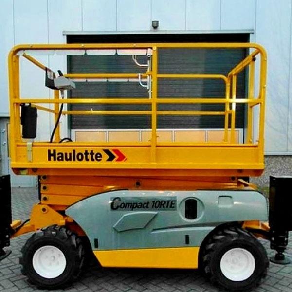 Электрический подъёмник Haulotte Compact 10 RTE в аренду