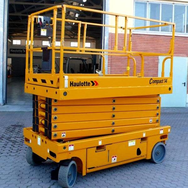 Электрический подъёмник Haulotte Compact 14 в аренду